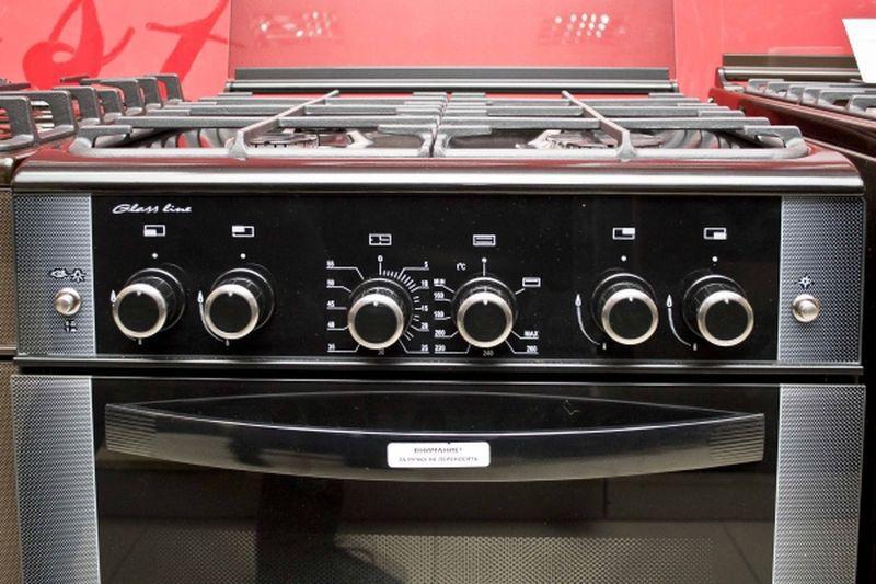 Газовая плита Gefest 6300-02 0046 (6300-02 СД1А) - панель управления